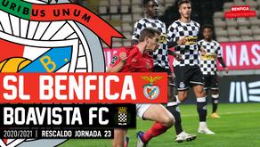 [Áudio]Benfica x Boavista | RESCALDO J23
