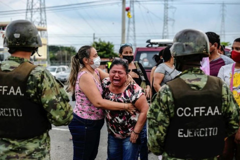Febrero fue el mes más violento de la última década en Ecuador