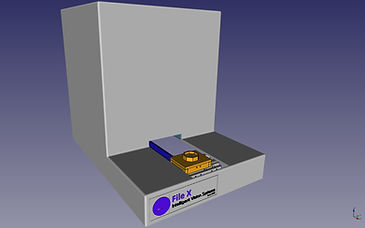 Metal parts edge measurement and defects detection system