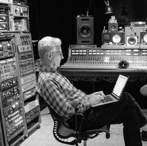 """Mark """"Kaz"""" in the studio"""