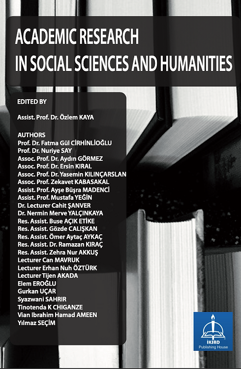 ACADEMIC RESEARCH IN SOCIAL SCIENCES AND HUMANITIES