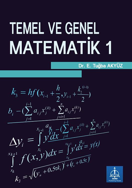 TEMEL VE GENEL MATEMATİK 1