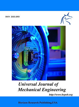 Universal Journal of Mechanical Engineer