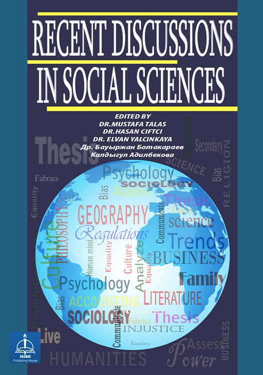 RECENT DISCUSSIONS IN SOCIAL SCIENCES
