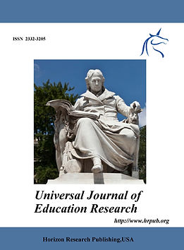 Universal Journal of Education Research.