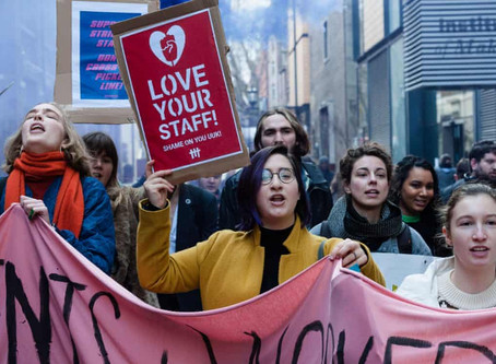 """I'm striking because insecure academic contracts are ruining my mental health"""