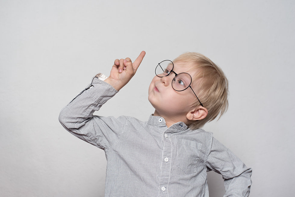 portrait-cute-blond-boy-with-big-glasses