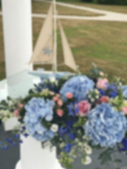 Nautical Themed Wedding Flowers