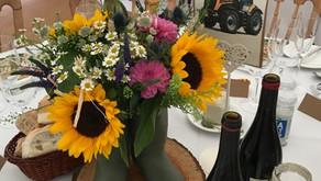 A fun farm themed wedding for Haley & Sean .
