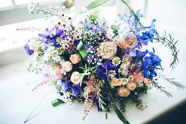 Striking Wedding Bouquet