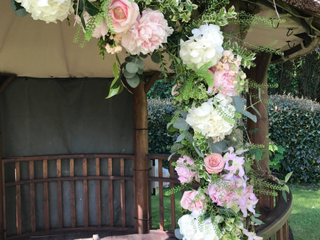 Claire & Ashley's Wedding At Boscundle Manor