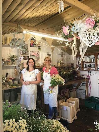 Anna & Sara in the Barn