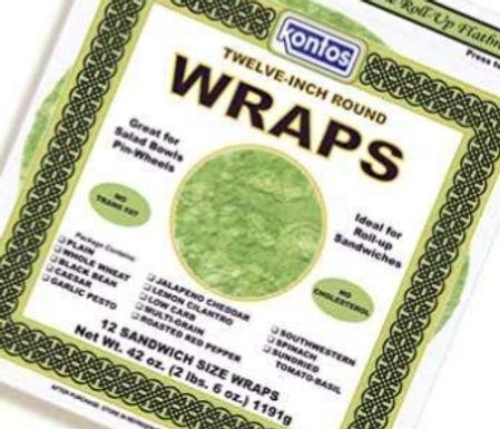 Wraps Spinach