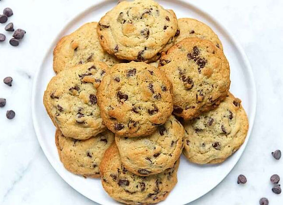 1 Dozen Mini Ultimate Chocolate Chip Cookies