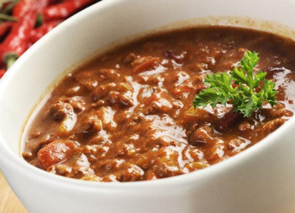 Beef Chili Bowl