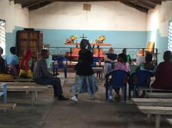 First meeting in Majengo Soko