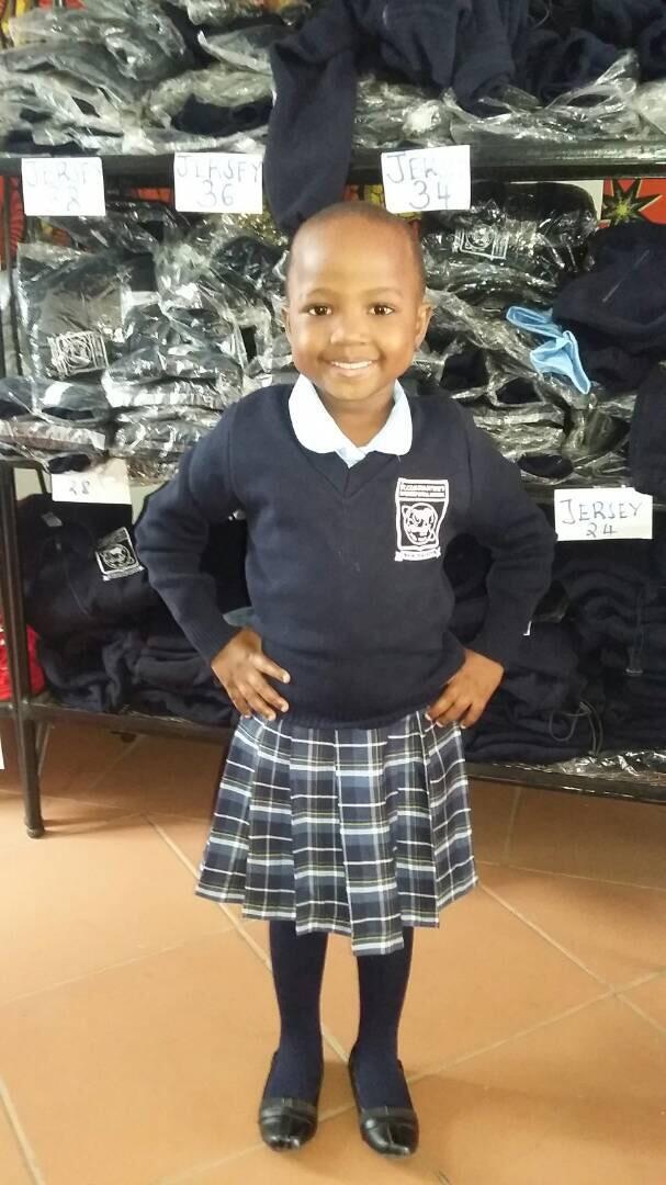Elizabeth Furaha, Laurel and Tony's little girl in Tanzania