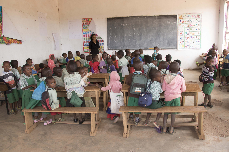 Preschool in Majengo Kahe