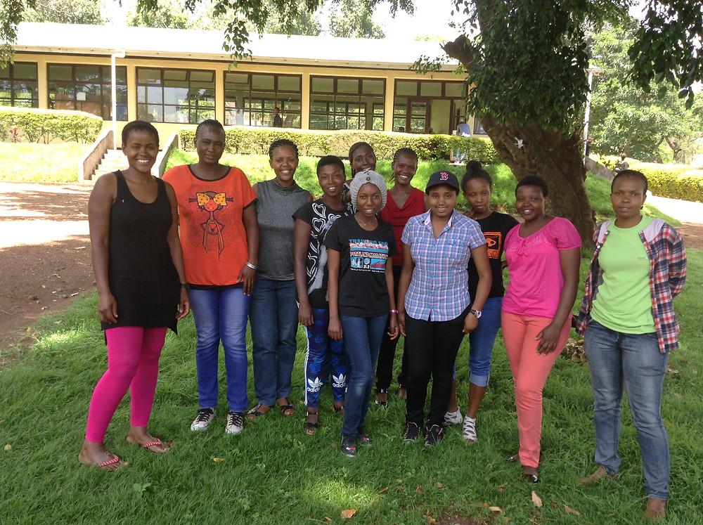 Women Guide Graduates of Mweka College