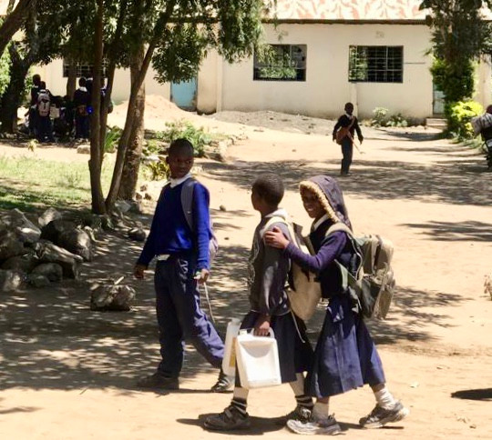Kids at Seliani Primary School, Usa River