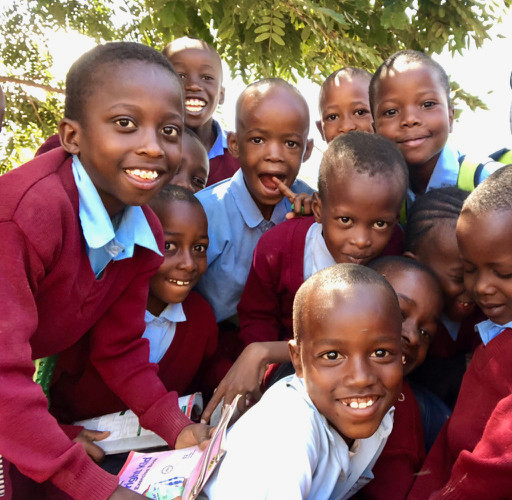 Kids at Kisimani School