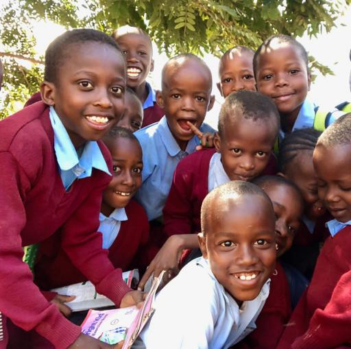 Kids at Kisimani School