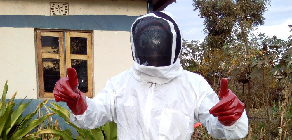 KiliTech beekeeper from Mwadu group