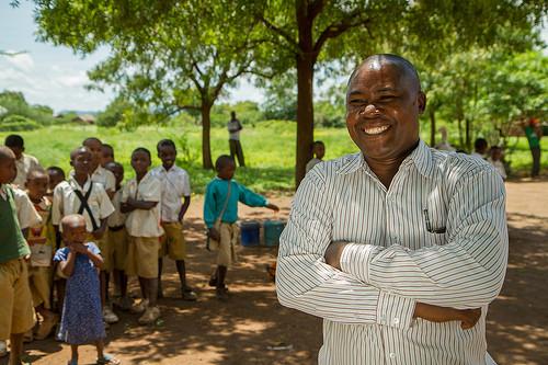Thadei Msumanje with KiliTech