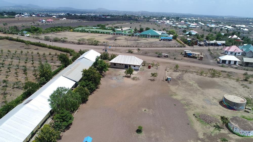 KiliTech water project at Kisimani School