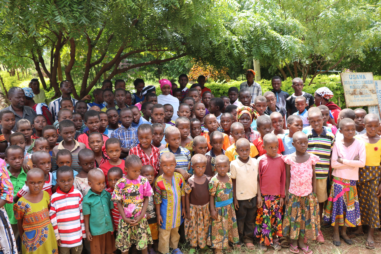 Orphans in Majengo Soko