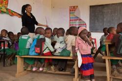 Classroom in Majengo Kahe
