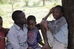 Children in Majengo