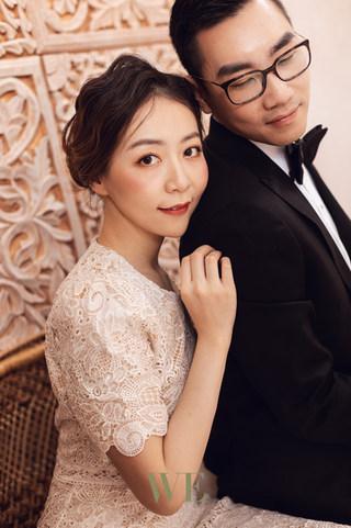 mint room pre wedding photo 婚纱照
