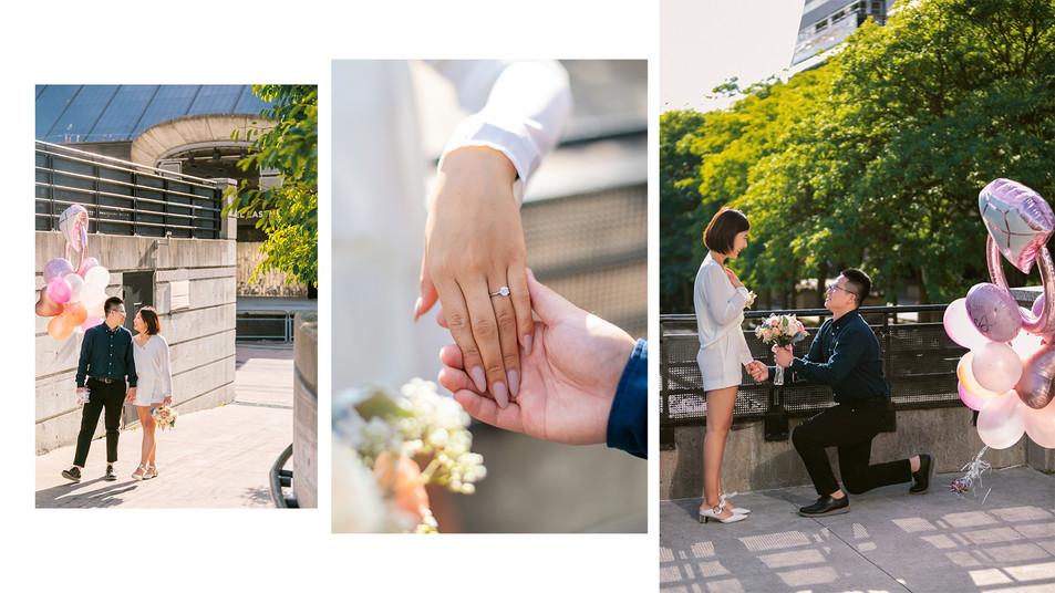 North york civic center wedding photo