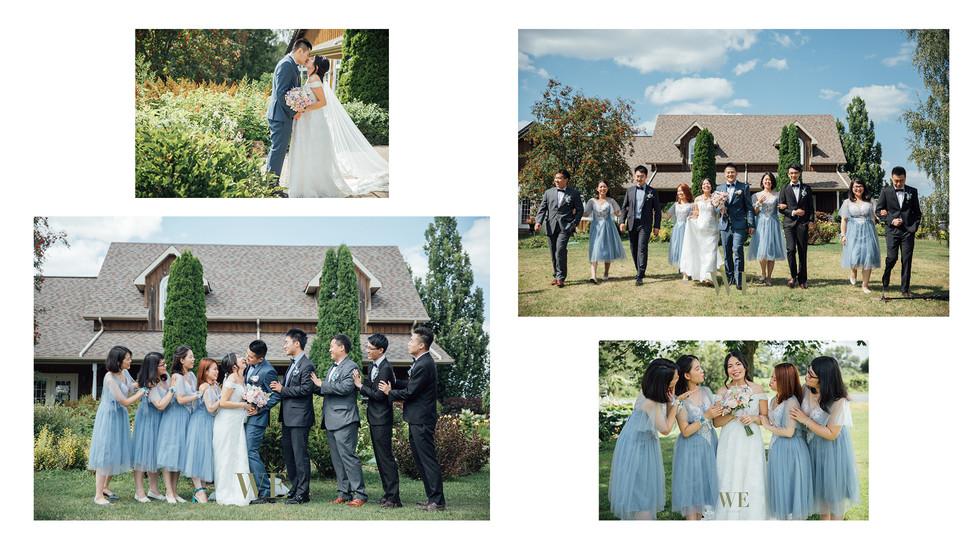 多伦多柳泉酒庄婚礼  willow springs winery wedding photo