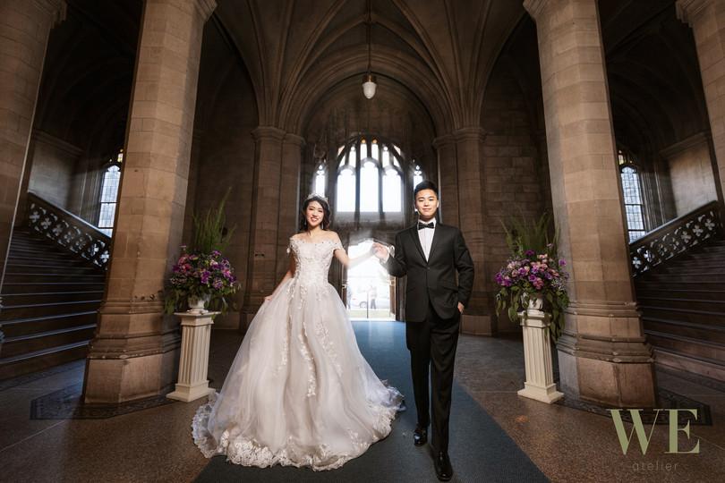 knox college pre wedding photo 婚纱照