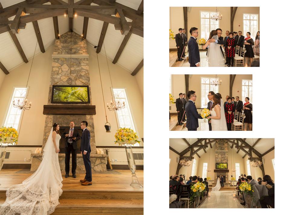 Ancaster Mill wedding photo