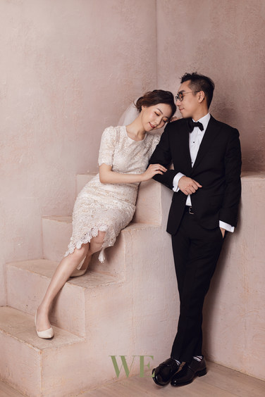 mint room pre wedding photo 婚纱照