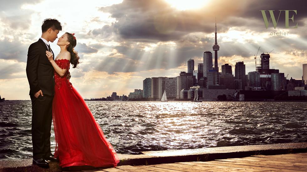 Toronto pre wedding engagement photo 婚纱照