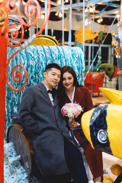 pride of canada carousel markham civic center wedding photo