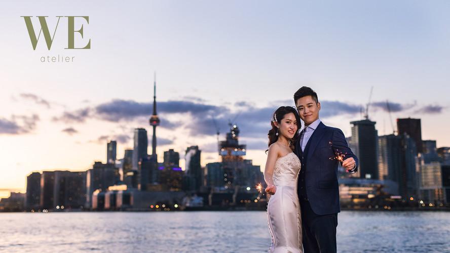 Toronto pre wedding photo 婚纱照