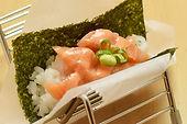 yayoi spicy salmon sushi_bites