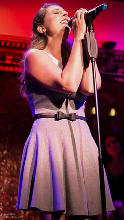 Performing at 54 Below