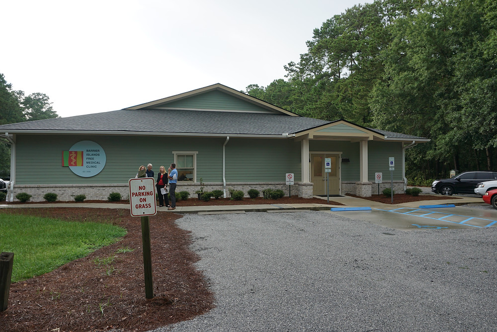 The Barrier Island Free Medical Clinic occupies a large, modern building
