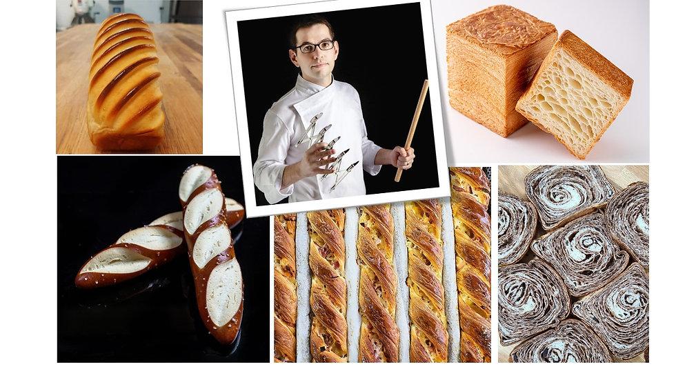 Chef Jeremy Ballester Bread Masterclass - Recorded Session