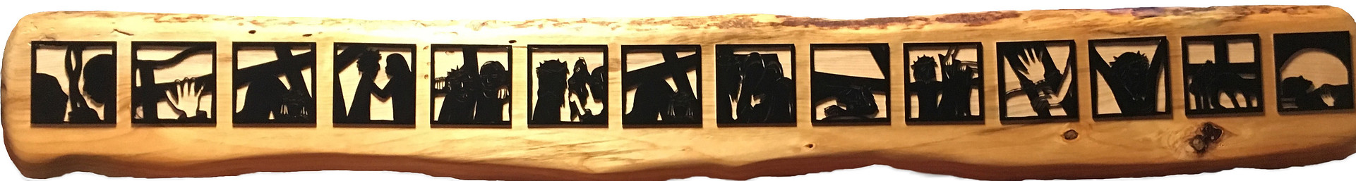 Stations of the Cross DESK Cutout