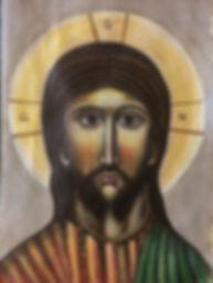 Christ Icon - Christine Sage 2019