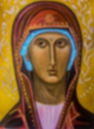 Mary Icon - Christine Sage 2019