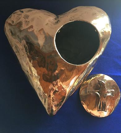 Bronze Heart 2 - Notre Dame College Shep