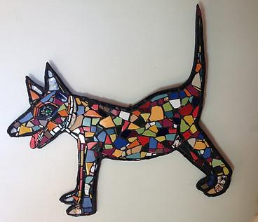 Mosaic Dog